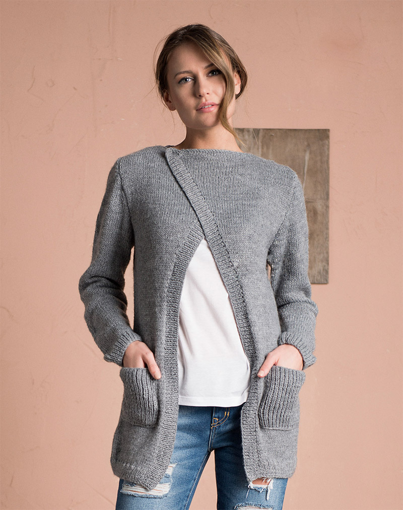 04d24a2e1 Free women s sweater knitting pattern   Modern