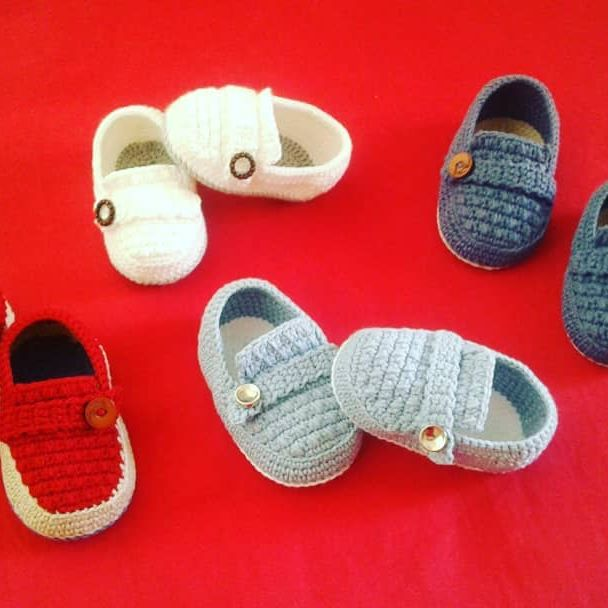 These baby shoes designs are always indispensable.