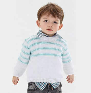 Child's Easy Pullover Knit Pattern