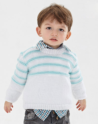 Easy Pullover Knit Pattern