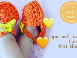 Best knit baby booties