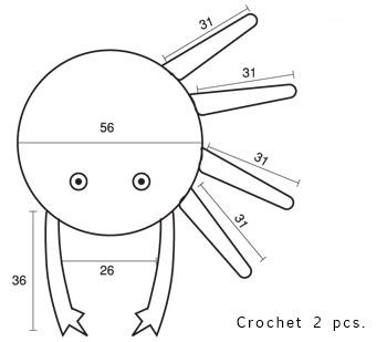 Chart for Crab Cushion