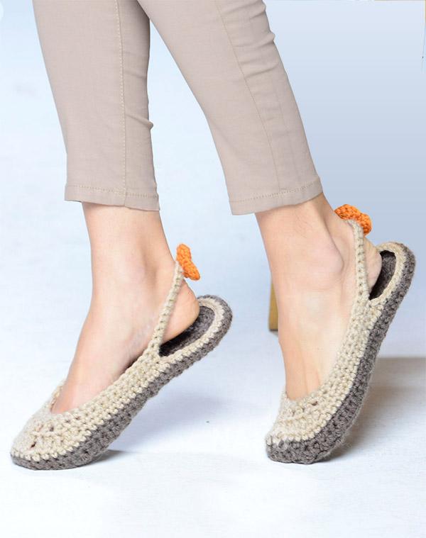 A great sandals pattern for women: Dream Sandal