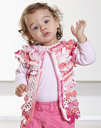 Easy Knit Children's Vest Pattern