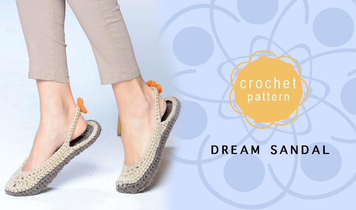 Easy women's sandal pattern