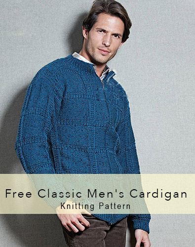 Classic Men's Cardigan