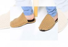 Easy Knitted Slippers Pattern