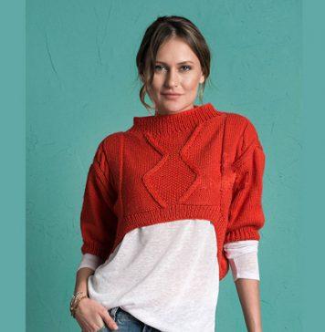 Free Crop Top Sweater Pattern for Women