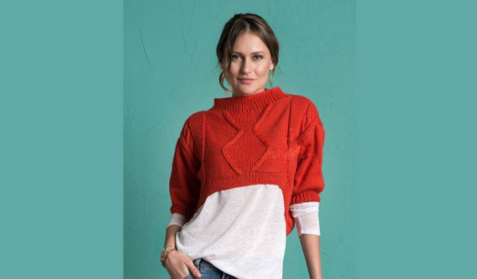 Free Crop Top Sweater Pattern for Women