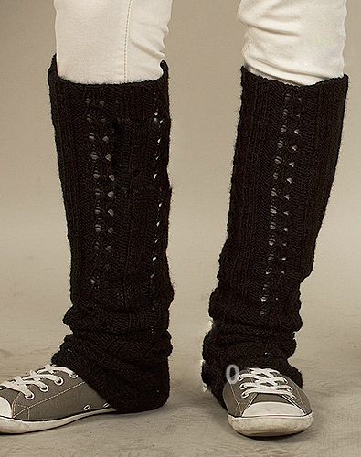 Easy Leg Warmers Knitting Pattern