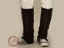 How to knit leg warmers beginners
