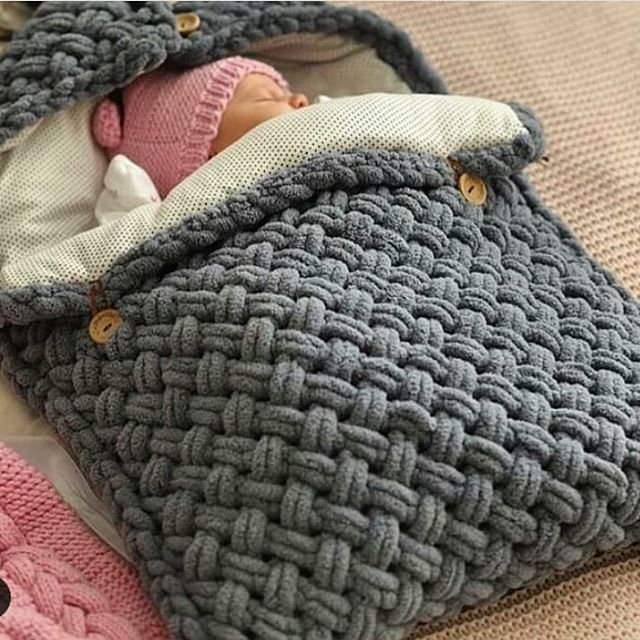 The best 15 knit baby blankets of the week | Knitting ...