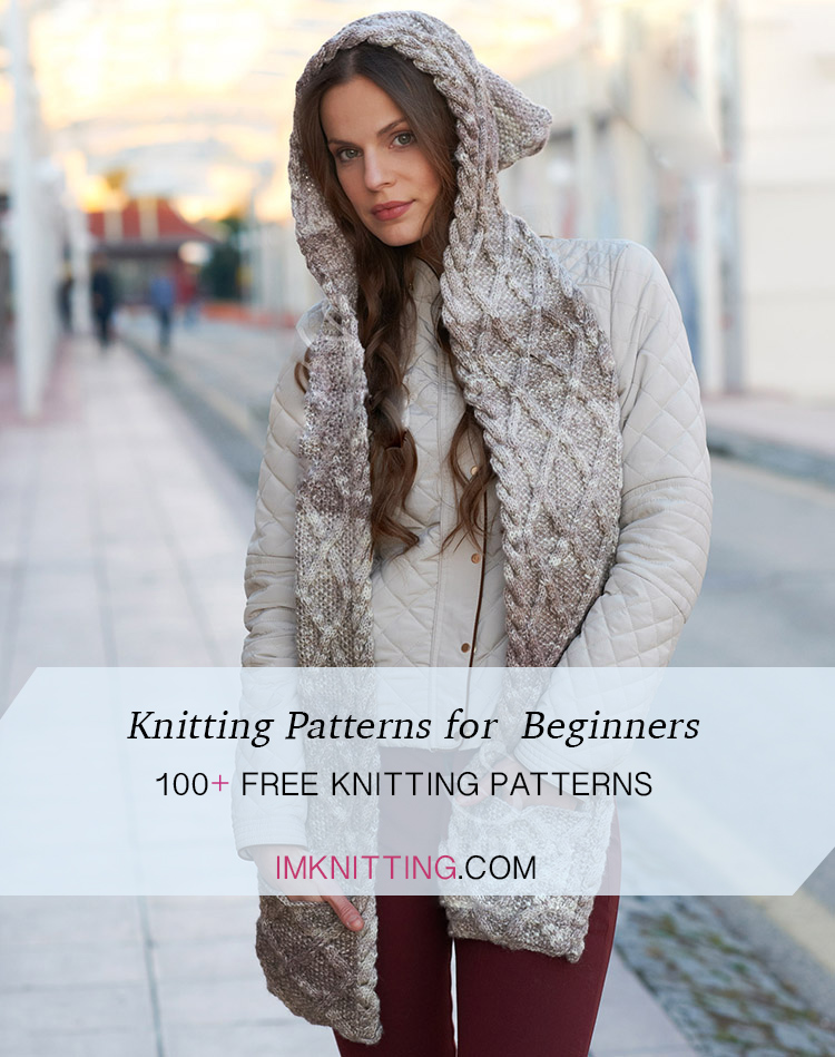 Easy Knitting Patterns for Beginners, 100+ Knit Patterns