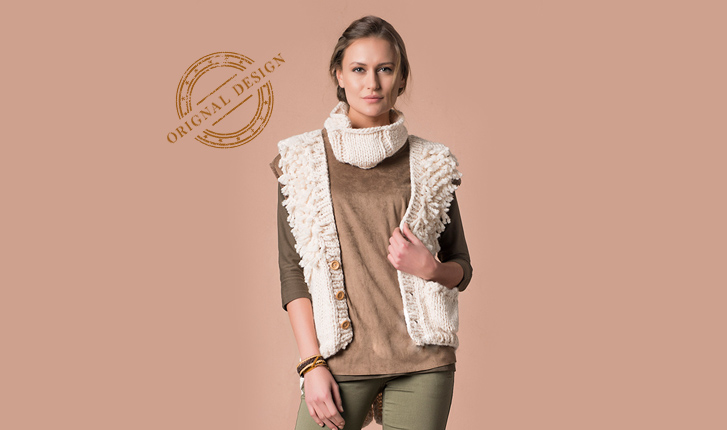 Scarf Vest Knitting Pattern Knitting Patterns For Beginners