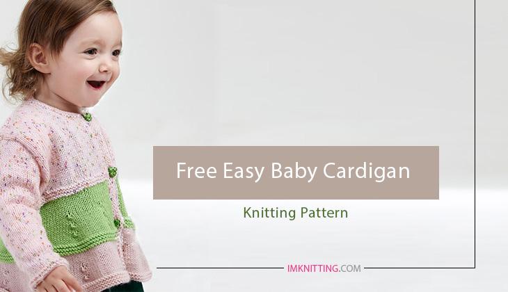 Free Easy Baby Cardigan Knitting Pattern Knitting Patterns For