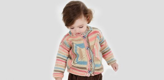 Free Toddler Sweater Knitting Pattern: Butterfly