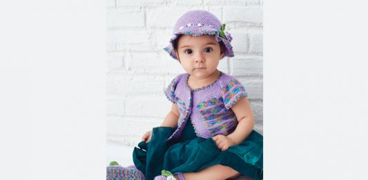 Free Hat, Vest, booties Kitting Pattern