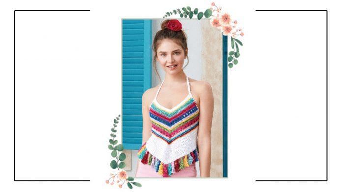 Free Crochet Top Pattern for women