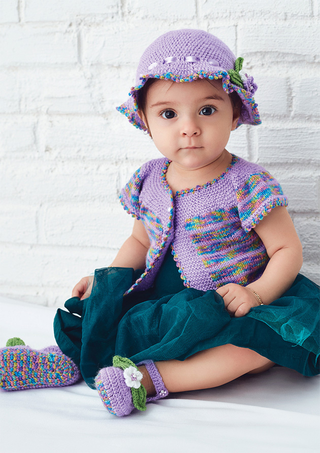 Free Knitting Patterns For Babies. Knitting Patterns For Baby Hat, Vest and Booties