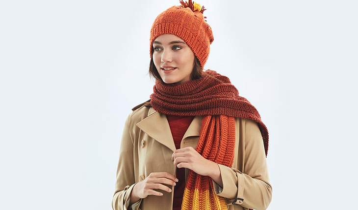 Easy Knitted Hat And Scarf Free Pattern Knitting Patterns For