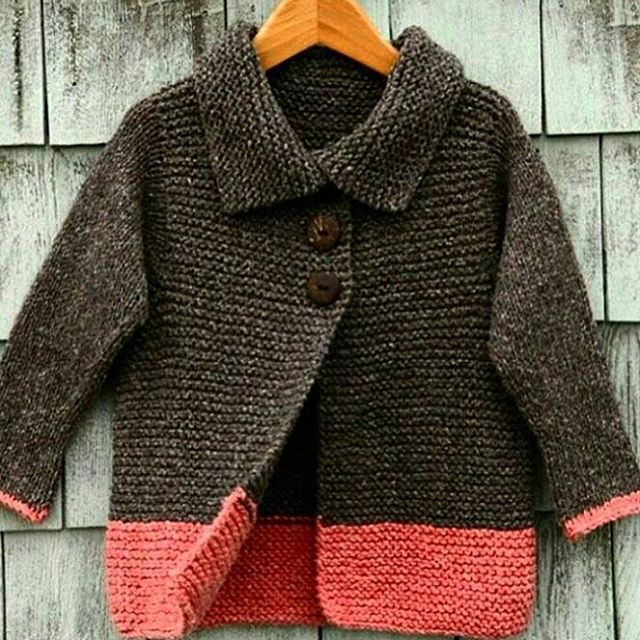 A beautiful and warmer sweater design for girls or boys. We are planning to add a similar pattern to our baby knitting patterns archive soon.