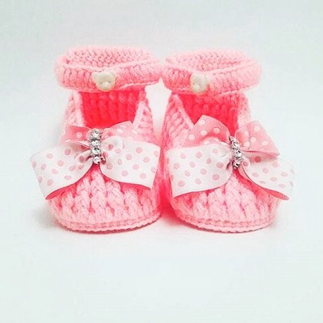 A nice booties pattern for babies. They are always popular.