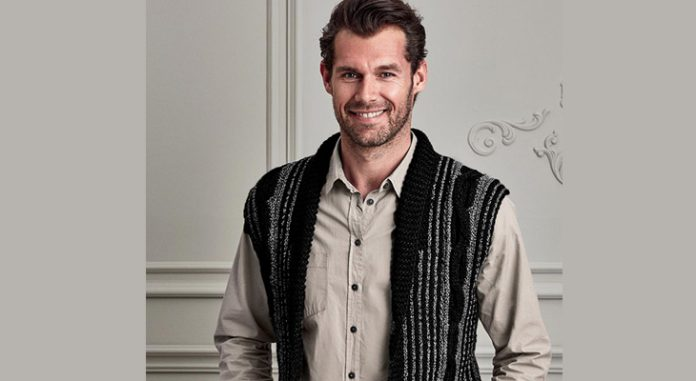 Men's Cable Knit Cardigan Free Pattern