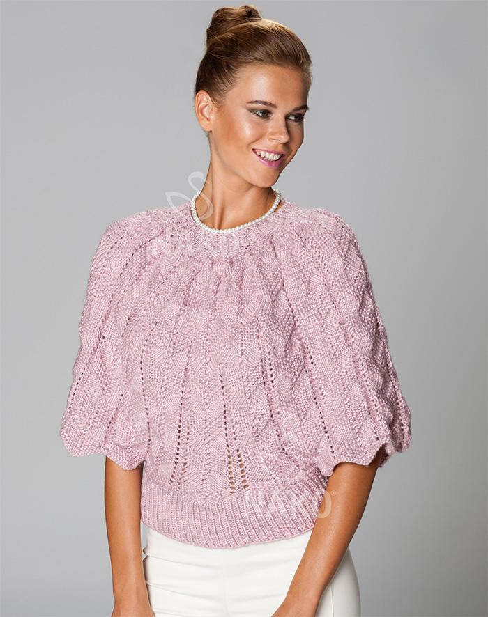 hort sleeve top knitting pattern for women