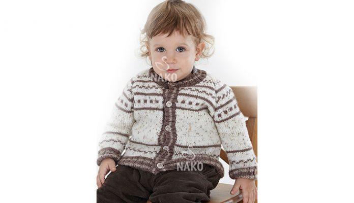 Free Toddler Cardigan Knitting Pattern