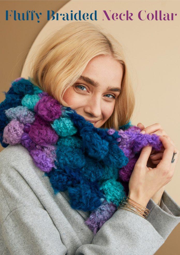 Cha Cha Collar Knitting Pattern