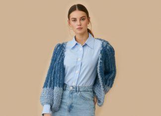 Jean Cardigan Knitting Pattern