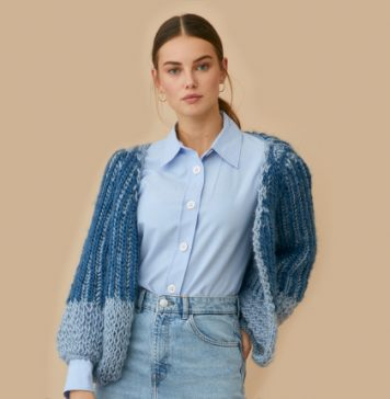 Jean Cardigan Knitting Pattern