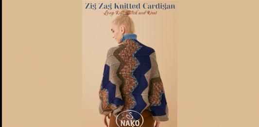 Zig Zag Cardigan For Women