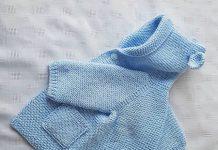 Baby knitting dress pattern